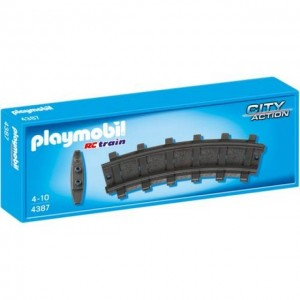 Playmobil City Action 4387 - Gebogen rails 2x