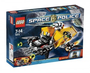 Lego Space Police 5972 - Truck Ontsnapping