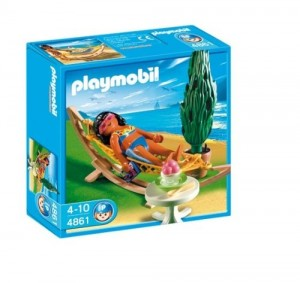 Playmobil Summer Fun 4861 - Toeriste in hangmat