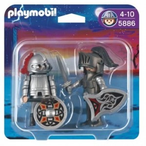Playmobil Knights 5886 - Duo-pack Harnasridders