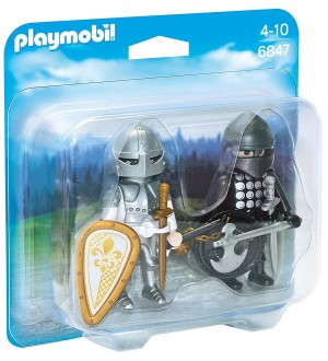 Playmobil Knights 6847 - Ridders in harnas