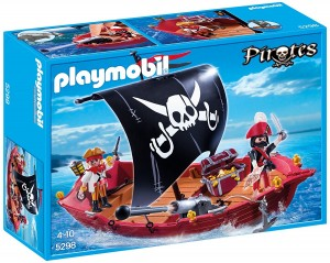 Playmobil Pirates 5298 - Piraten-zeilboot
