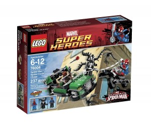 Lego Superheroes 76004 - Spider-Cycle Achtervolging