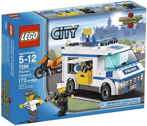 Lego City  7286 - Gevangenen-transport