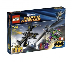 Lego Super Heroes  6863 - Battle over Gotham City