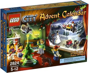 Lego City  2824 - Adventkalender 2010