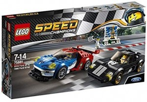 Lego Speed Champions 75881 - 2016 Ford GT & 1966 Ford GT40