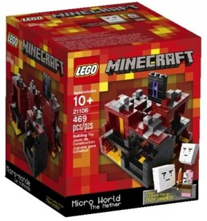 Lego Minecraft 21106 - Microworld The Nether